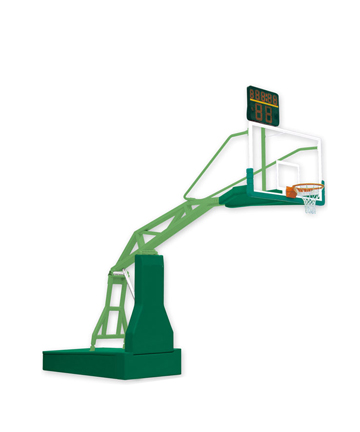 奥健电动液压篮球架AJS1001