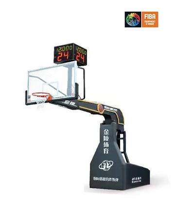 胶州金陵奥运之星智能篮球架11106(YDJ-5B)