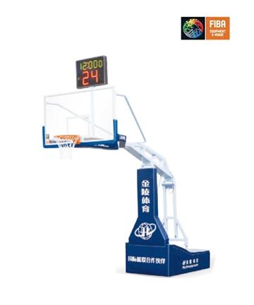 邹城金陵电动液压篮球架11104(YLJ-3B)