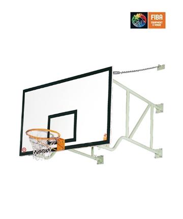 金陵墙面固定篮球架11206(XZJ-2)