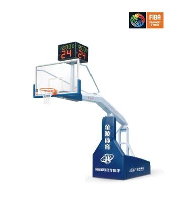 金陵手动液压篮球架11105(YDJ-SB)