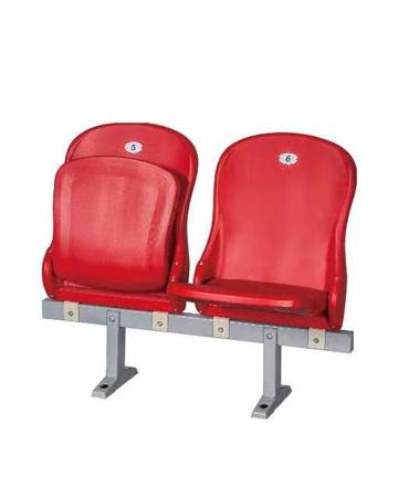 胶州金陵落地式中空塑料翻板椅81205(ZKY-30B)