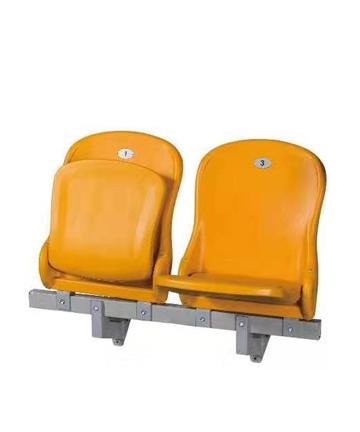 邹城金陵落地式中空塑料翻板椅81218(ZKY-30E)