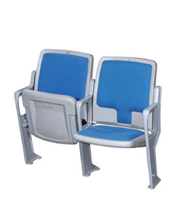 金陵直立式带扶手带软垫座椅(550mm)81183(ZKY-21GN)