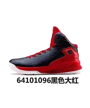 艾弗森篮球鞋64101096黑色大红