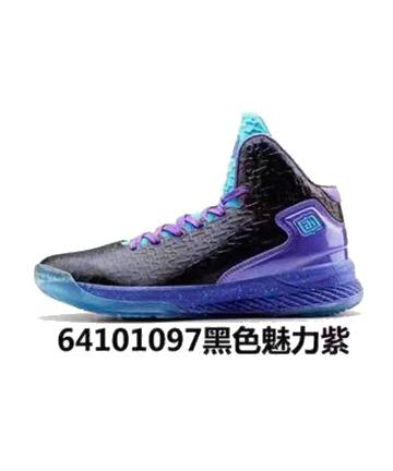 艾弗森篮球鞋64101097黑色魅力紫