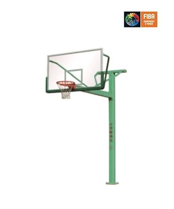 金陵固定式单臂篮球架 11231/GDJ-1AB