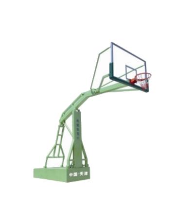 奥健手动液压篮球架AJS1004