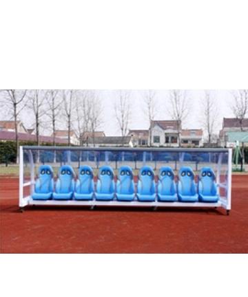 胶州金陵豪华型足球防护棚12128A(ZFP-5)