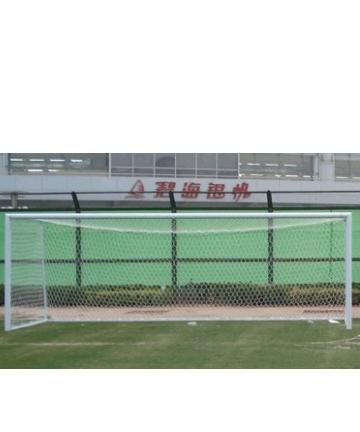 胶州金陵11人制移动式钢管足球门12104(ZQM-2A)