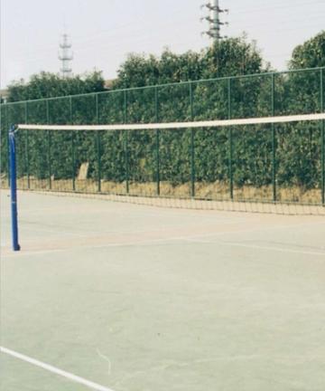 胶州金陵插地式排球柱13201(ZPZ-3)