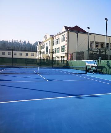 邹城市体育公园网球场项目