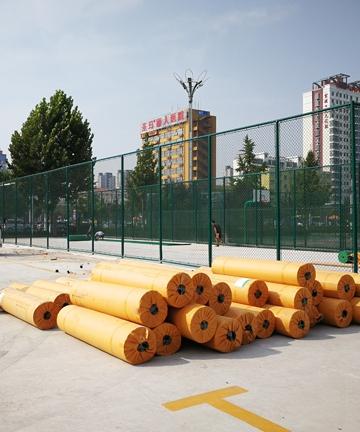 任城区法院室外羽毛球场项目