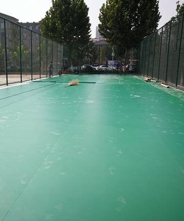 济宁市为民办实事羽毛球场地项目