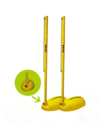 奥健ABS比赛专用羽毛球柱AJS2023