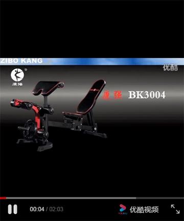 宝迪朗格BK-3004多功能训练凳
